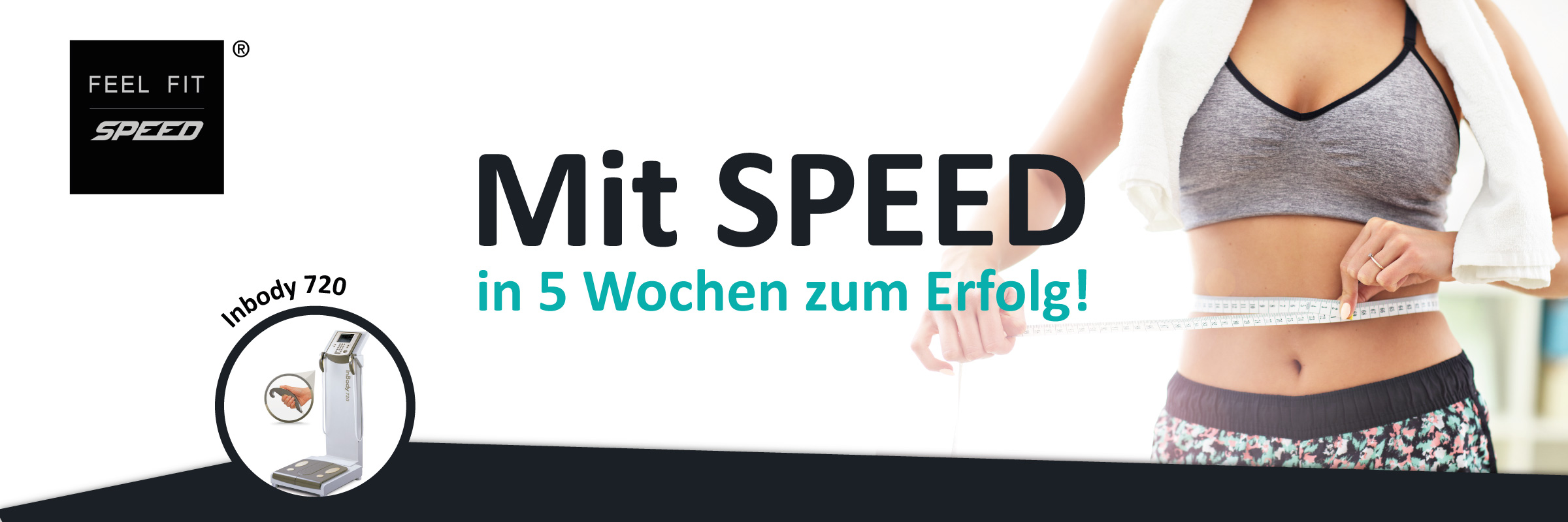 In 5 Wochen zum Erfolg mit Feel Fit Speed® Slimyonic Inbody